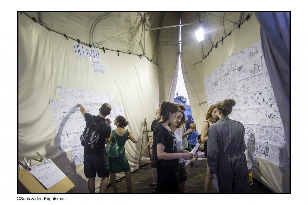 OverhetIJ festival 2015 - © Saris & den Engelsman